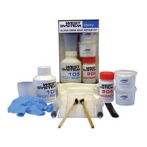 West System West Epoxy Glass Fibre Boat Repair Kit