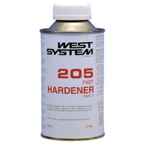 West System West 205A Epoxy Fast Hardener 0.2kg