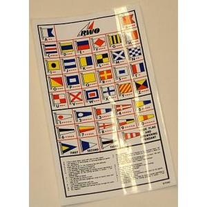 RWO Marine Code Flags Sticker Rwo