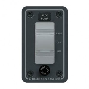 Blue Sea Waterproof Bilge Switch Panel