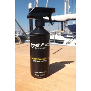 August Race Super Quick Shine UV Spray Wax