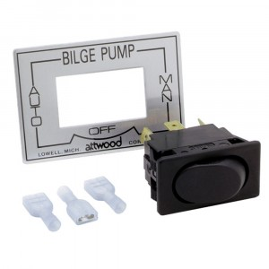 Attwood 3 Way Bilge Pump Switch