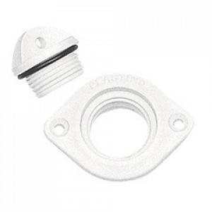 Plastimo White Drain Socket Bung