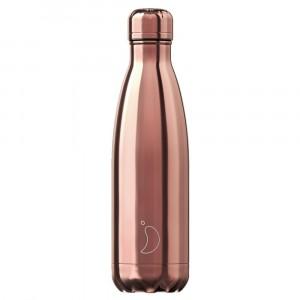 Chilly's 500ml Bottle Rose Gold