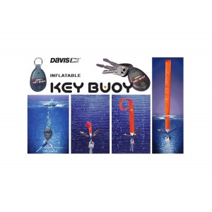 Davis Self Inflating Key Ring Buoy