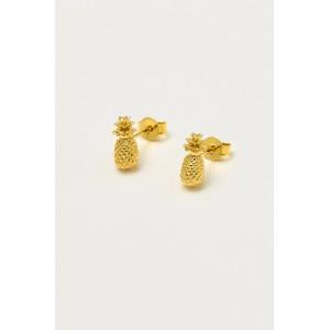 Estella Bartlett Pineapple Stud Earrings