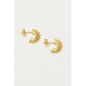 Estella Bartlett Sunburst Hoop Gold