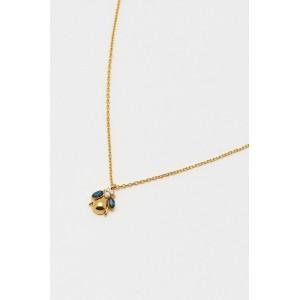 Estella Bartlett Blue Bug Necklace