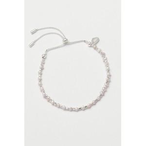 Estella Bartlett Amelia Pearl Slider Bracelet Silver
