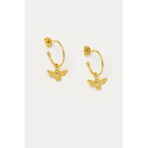 Estella Bartlett Bee Drop Earrings Gold