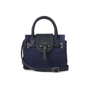 Fairfax & Favor The Mini Windsor Handbag Navy