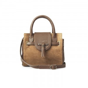 Fairfax & Favor The Mini Windsor Handbag Tan