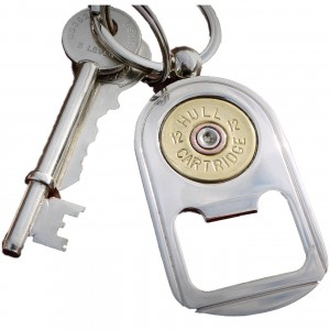 Hicks & Hides 12bore Bottle Opener Keyring