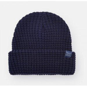 Joules Bamburgh Knitted Hat Deep Midnight