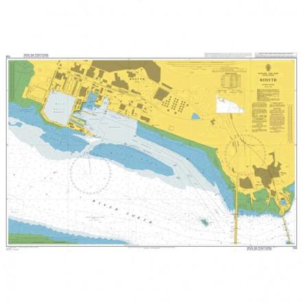 Rosyth - Admiralty Chart 728