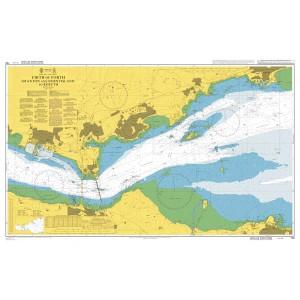 Admiralty Granton to B/Isl Rosyth Chart 736