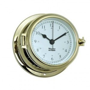 Weems & Plath Endurance 11 115 Clock Brass