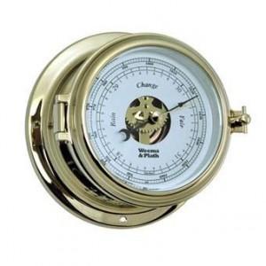 Weems & Plath Endurance 11 115 Barometer Brass