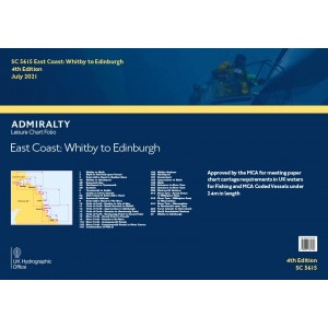 Admiralty Folio East Coast - Whitby To Edinburgh