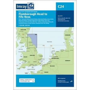 Imray Chart C24 Flamborough Head to Fife N