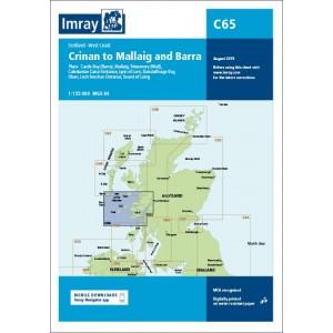 Imray Chart C65 Crinan to Mallaig and Barr