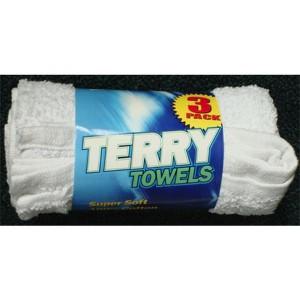 Swobbit Cotton Terry Towels x 3