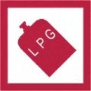 W4 LPG Sticker