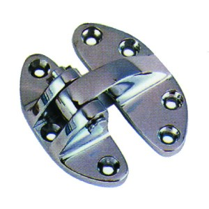 Waveline Hatch Hinge Stainless 1.5x3in