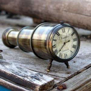 Nauticalia Discovery Telescope Clock