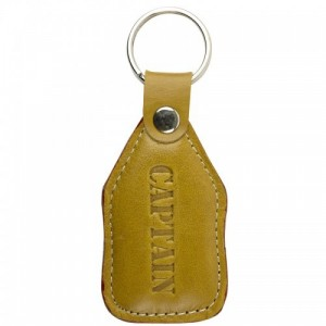 Nauticalia Captain Leather Keyring