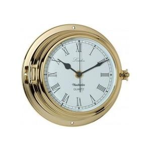 Nauticalia Brass London Clock