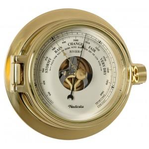 Nauticalia Riviera Barometer Brass 120mm