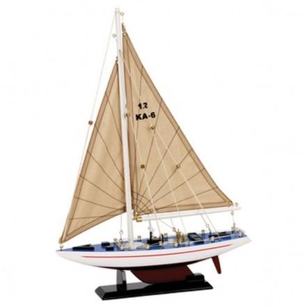 Nauticalia Racing Yacht Model 30cm