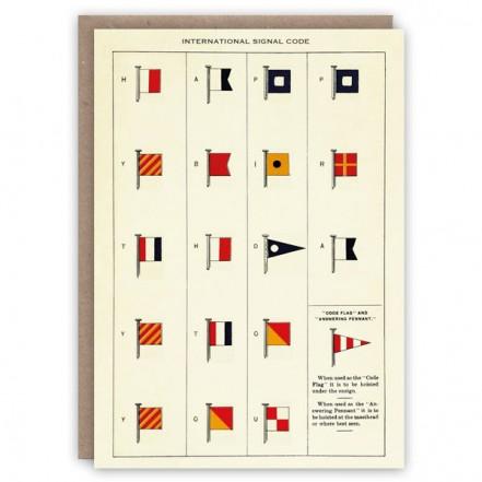 The Pattern Book International Signal Code Card