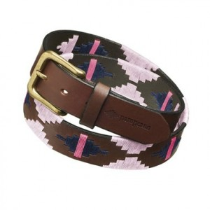 Pampeano Rosa Polo Belt
