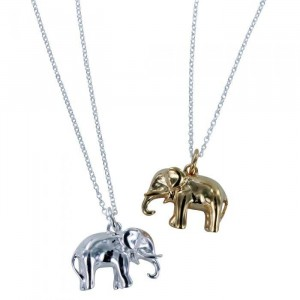 Reeves & Reeves Elephant Pendant Necklace