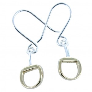 Reeves & Reeves Snaffle Dangly Earrings