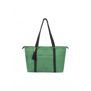 Dubarry Dunlavin Tote Bag Kelly Green