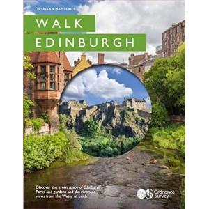 Walk Edinburgh (Os Urban Map)