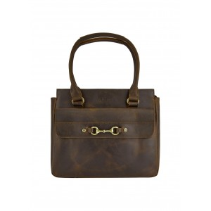 Dubarry Slane Saddle Bag Mahogany