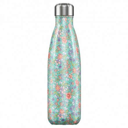 Chilly's 500ml Bottle Floral Peony
