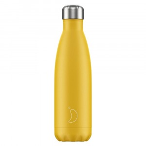 Chilly's 500ml Bottle Matte Burnt Yellow