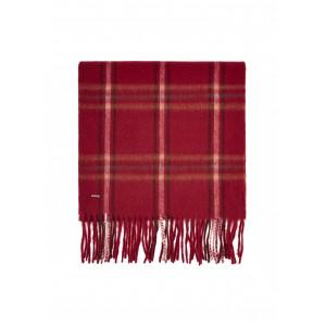 Dubarry Cullen Wool Scarf Ruby