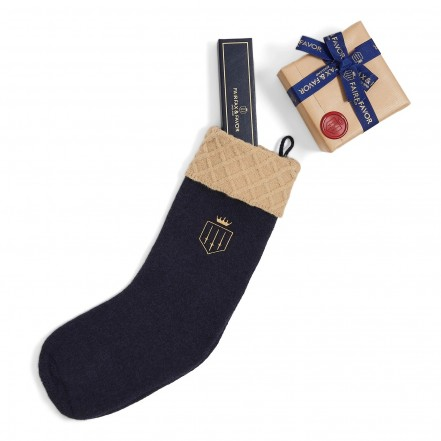 Fairfax & Favor Knitted Christmas Stocking