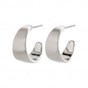 Pilgrim Gita Earrings Silver Plated