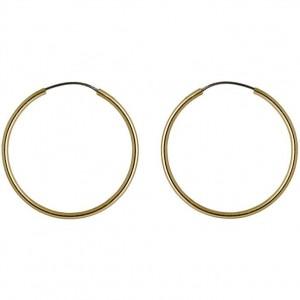 Pilgrim Sanne Earrings Gold Plated