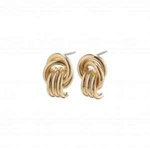 Pilgrim Doris Earrings Gold Plated