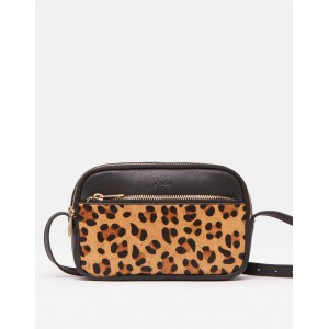 Joules Farley Leather Cross Body Bag