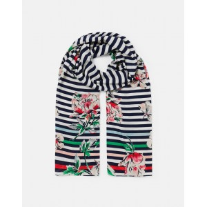 Joules Conway Printed Scarf