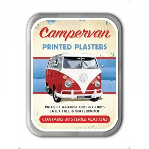 Campervan Plasters Tin
